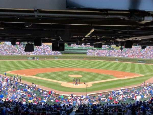 Wrigley Field, section: 217, row: 21, seat: 8