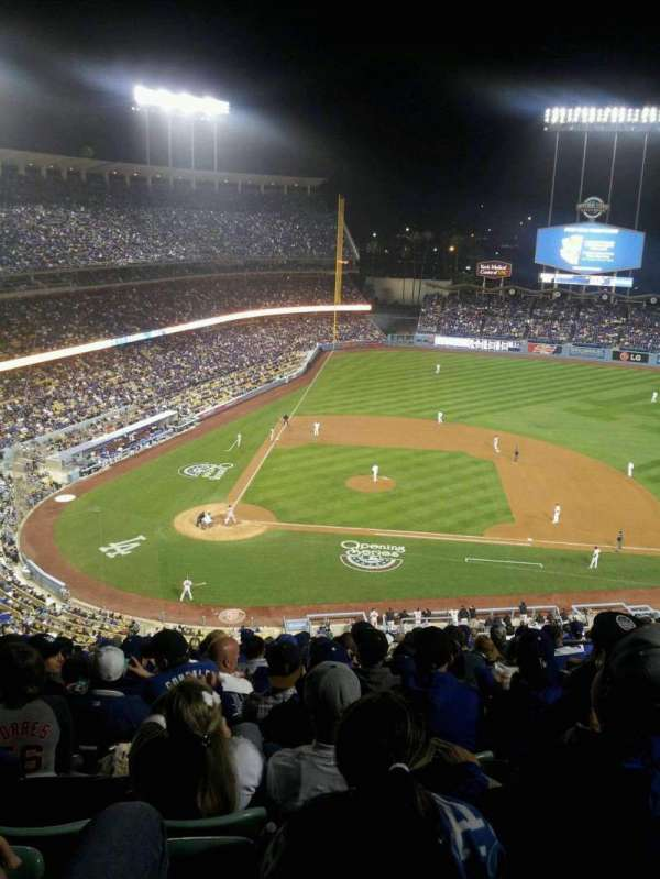 Dodger Stadium, section: 10RS, row: S, seat: 14