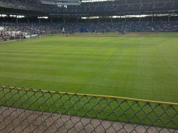 Wrigley Field, section: RF Bleaches, row: 1