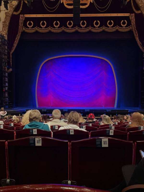 London Coliseum, section: Stalls, row: N, seat: 15