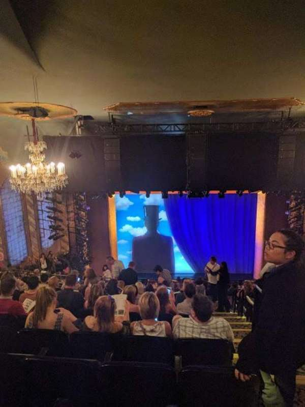 Lunt-Fontanne Theatre, section: Rear Mezzanine LC, row: L, seat: 101