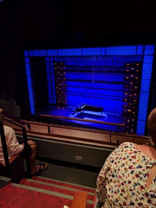 Stephen Sondheim Theatre, section: Mezzanine R, row: CC, seat: 2