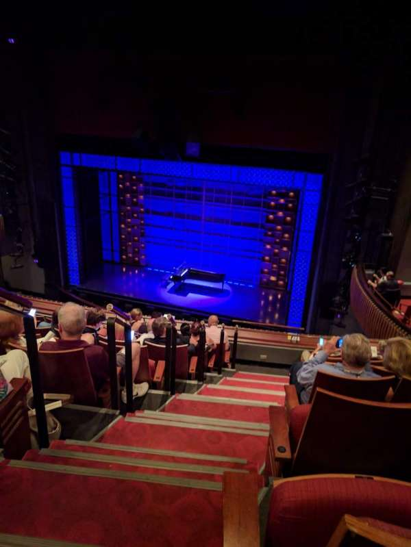 Stephen Sondheim Theatre, section: Mezzanine R, row: HH, seat: 2
