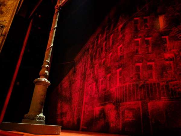 Longacre Theatre, section: Orchestra C, row: AA, seat: 101