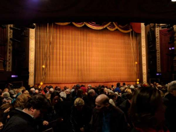 Imperial Theatre, section: Orchestra L, row: N, seat: 3