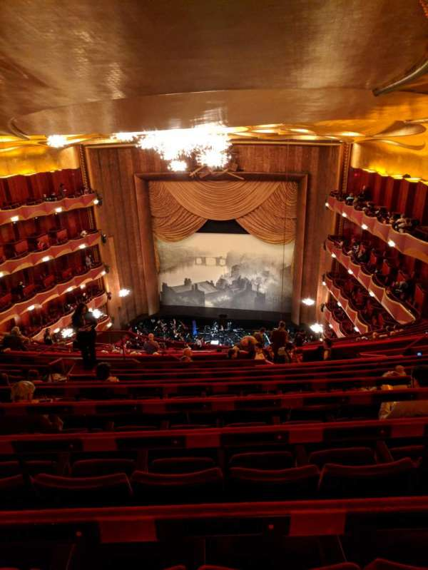 Metropolitan Opera House - Lincoln Center, section: Family Circle, row: J, seat: 212