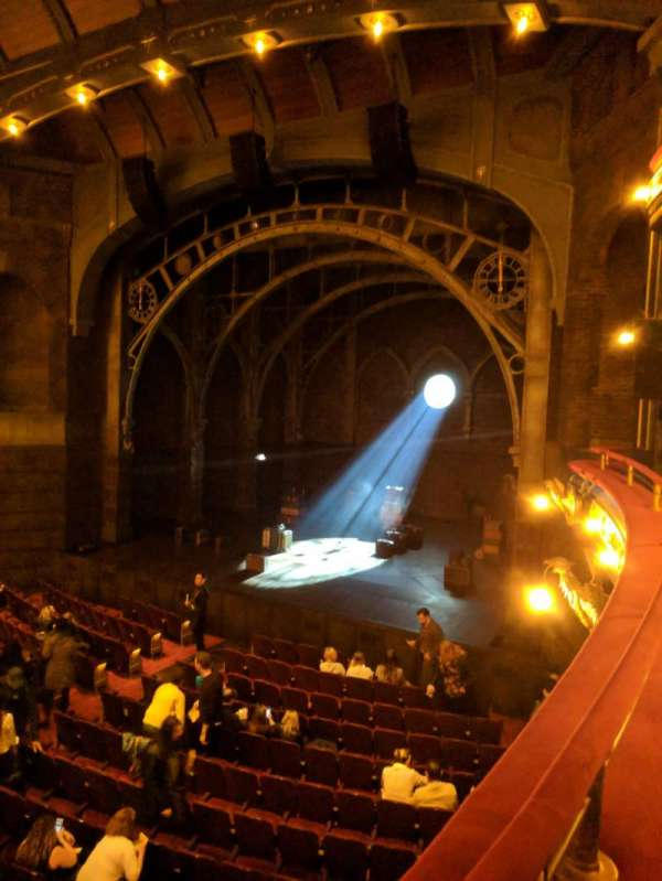 Lyric Theatre, section: Dress Circle Right, row: A, seat: 20