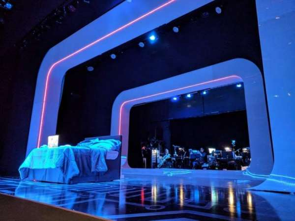 The Irene Diamond Stage at The Pershing Square Signature Center, section: Orchestra, row: A, seat: 118