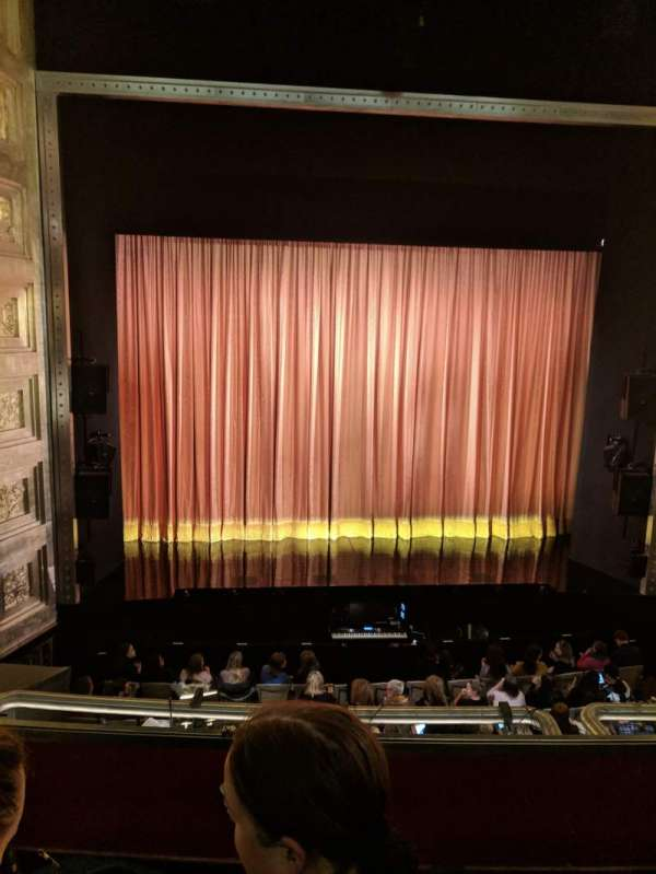 Savoy Theatre, section: Dress Circle, row: B, seat: 19