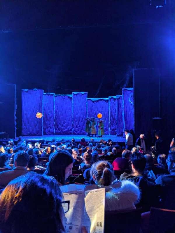 Stephen Sondheim Theatre, section: Orchestra C, row: M, seat: 105
