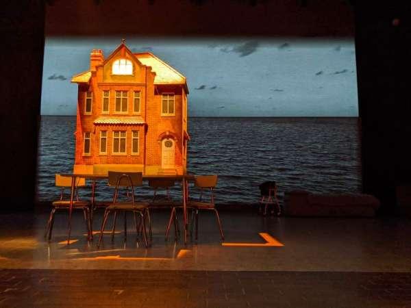 New York Theatre Workshop, row: A, seat: 11