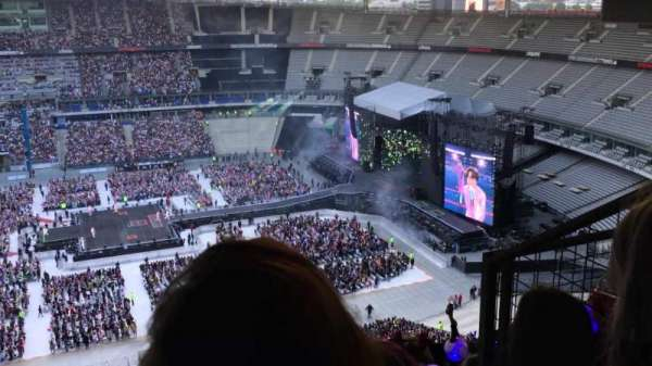 Stade de France, section: G1, row: 87, seat: 3