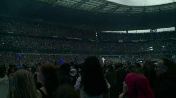 Stade de France, section: P11, row: 10, seat: 12