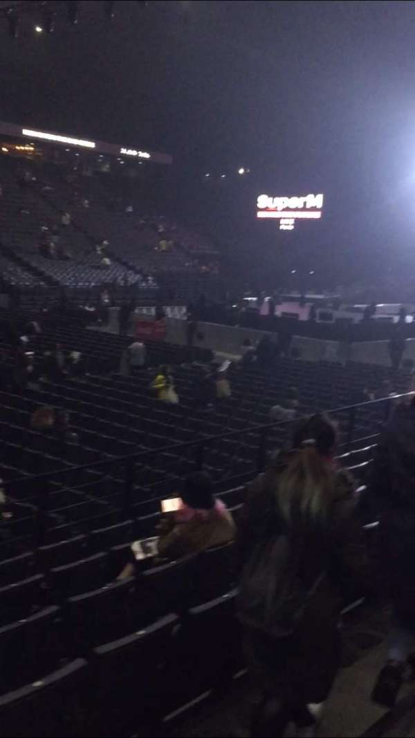 AccorHotels Arena, section: D, row: 22, seat: 25