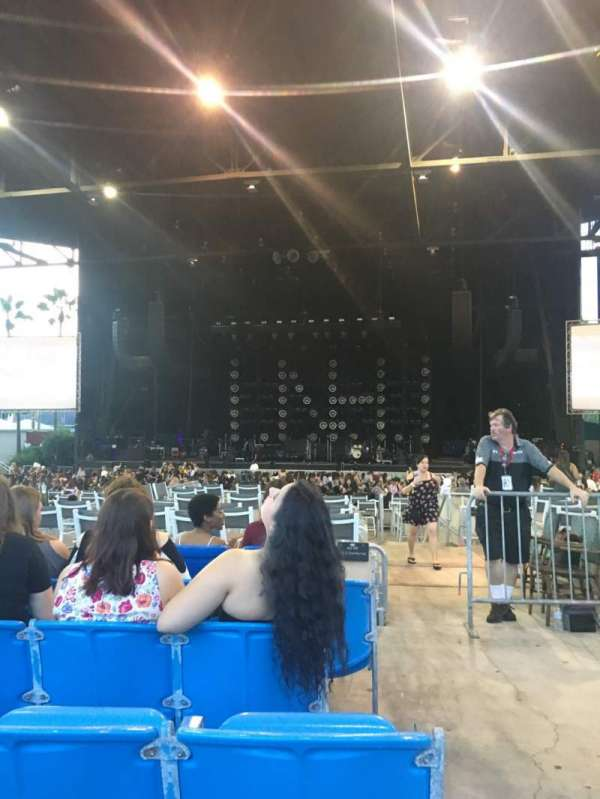 iThink Financial Amphitheatre, section: 6, row: N, seat: 1