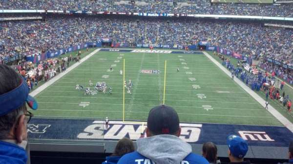 MetLife Stadium, section: 225A, row: 5, seat: 21