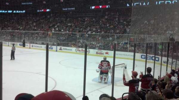 Prudential Center, section: 12, row: 7, seat: 9