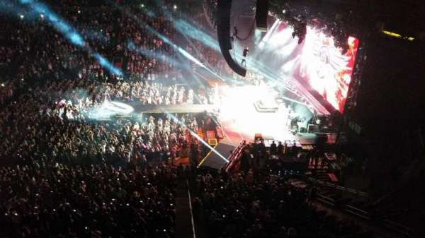 Prudential Center, section: 113, row: 1, seat: 5