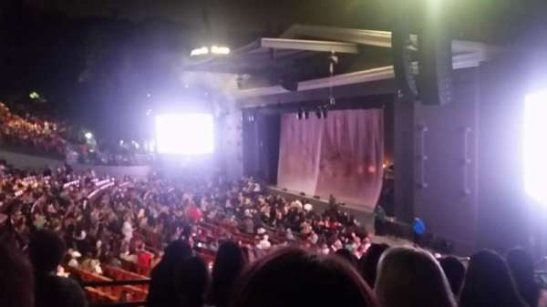 The Greek Theatre, section: South Terrace R1, row: HH, seat: 24