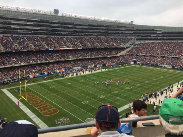 Soldier Field, section: 444, row: 2, seat: 12