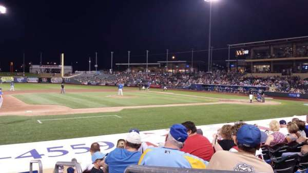 Werner Park, section: 119, row: 12, seat: 1