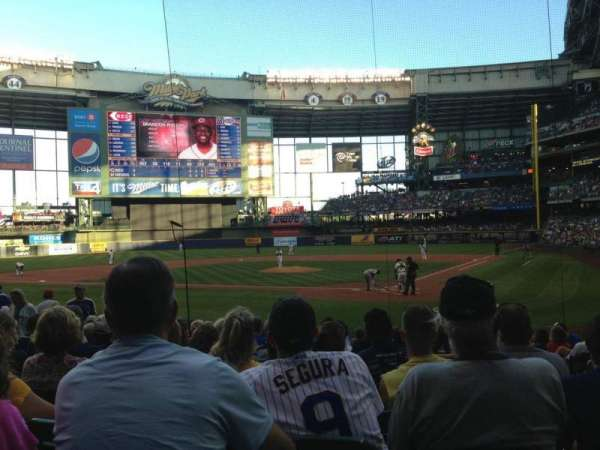 Miller Park, section: 119, row: 14, seat: 5