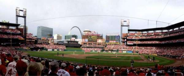 Busch Stadium, section: 154, row: 8, seat: 5