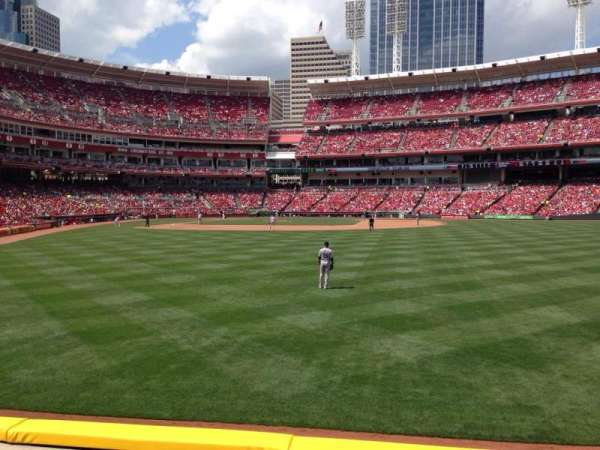 Great American Ball Park, section: 142, row: C, seat: 14
