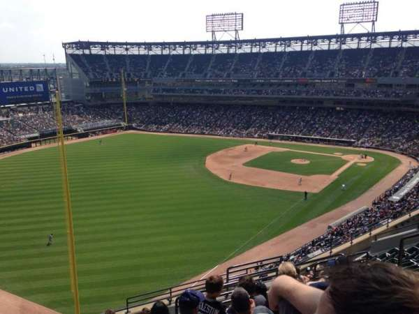Guaranteed Rate Field, section: 555, row: 13