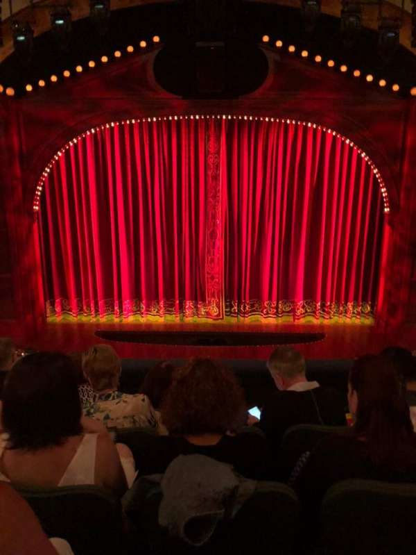 Shubert Theatre, section: Mezzanine C, row: E, seat: 107