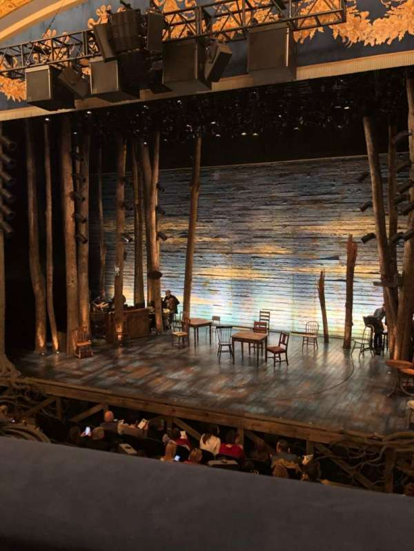 Gerald Schoenfeld Theatre, section: MezzR, row: A, seat: 2