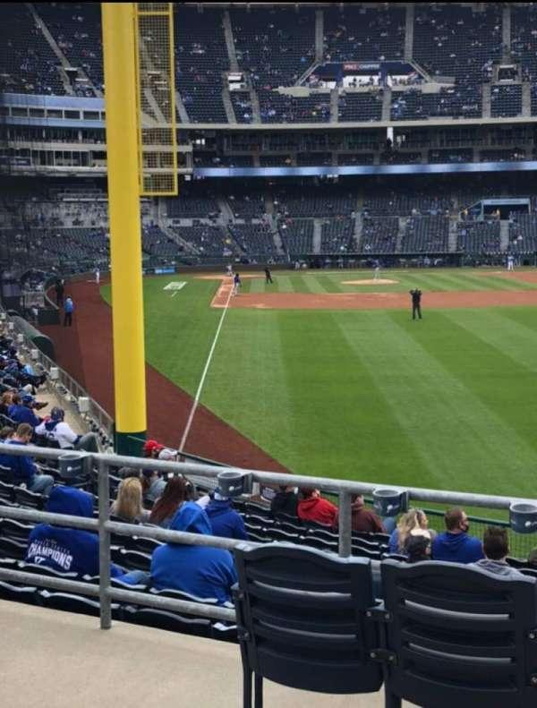 Kauffman Stadium, section: 249, row: AA, seat: 9