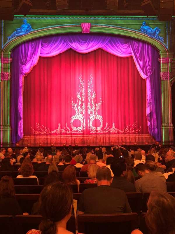 Hudson Theatre, section: Orchestra C, row: O, seat: 109