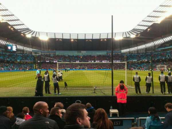 Etihad Stadium (Manchester), section: 137, row: G, seat: 1025