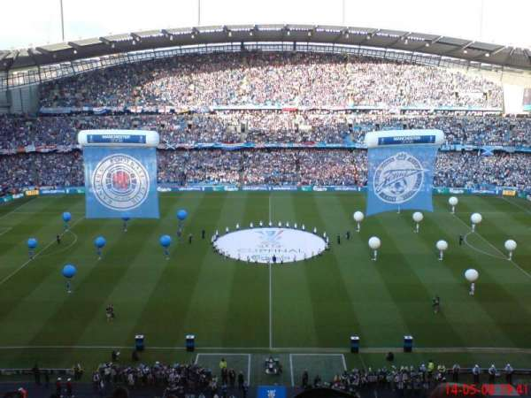 Etihad Stadium (Manchester), section: 3rd tier