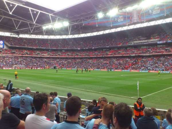 Wembley Stadium, section: 140, row: 8