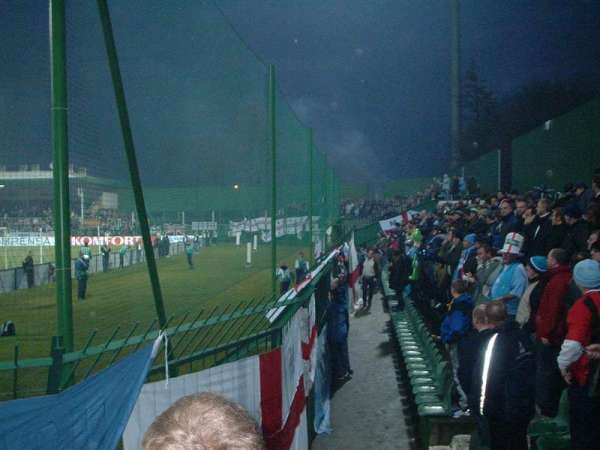 Dyskobolia Stadium, section: Away end