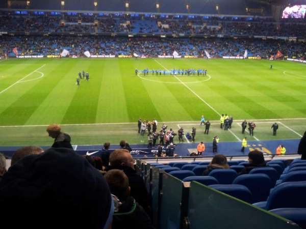 Etihad Stadium (Manchester), section: 237, row: K