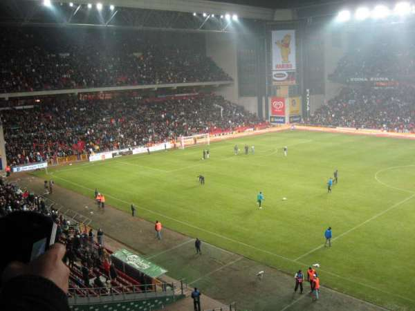Parken Stadium, section: Away Section