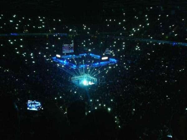 AO Arena, section: 206, row: k