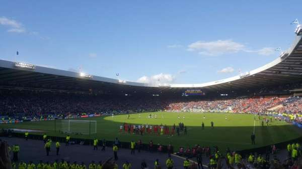 Hampden Park, section: A4