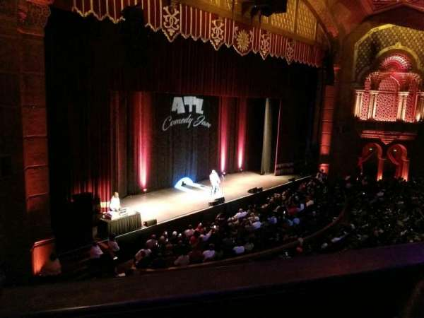Fox Theatre (Atlanta), section: Loge Left E, row: BB, seat: 37