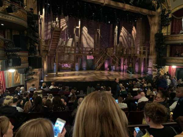 Richard Rodgers Theatre, section: Orchestra L, row: N, seat: 13-15