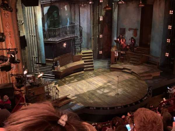 Walter Kerr Theatre, section: Mezzanine L, row: H, seat: 21-23