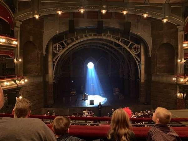 Lyric Theatre, section: Dress Circle C, row: C, seat: 107