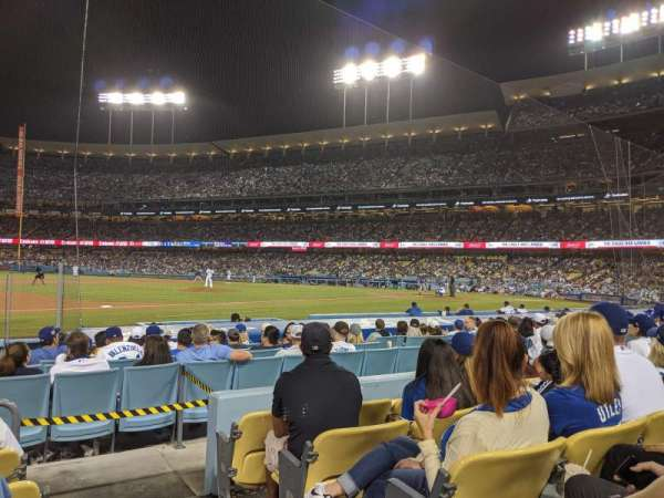Dodger Stadium, section: 27FD, row: E, seat: 1