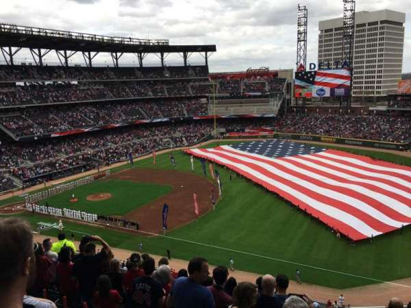 SunTrust Park, section: 315, row: 9, seat: 10