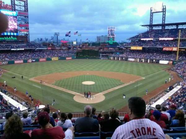 Citizens Bank Park, section: 222, row: 7, seat: 10