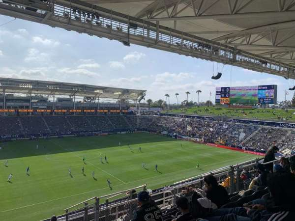 Dignity Health Sports Park, section: 234, row: N, seat: 13