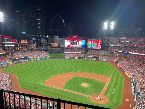 Busch Stadium, section: 453, row: 2, seat: 2